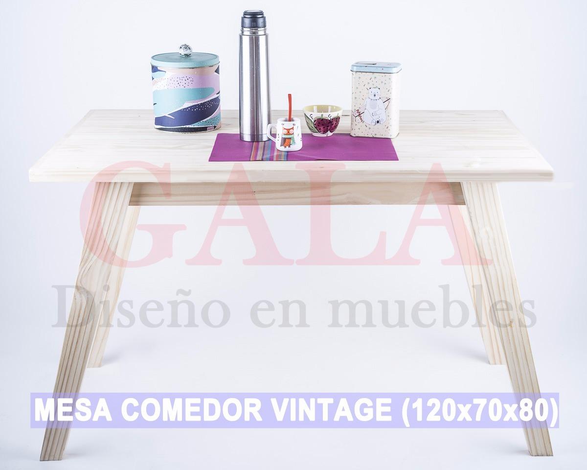 Mesa Comedor Retro Vintage 120x70x80 - Precios De Locos - $ 1.590,00 ...