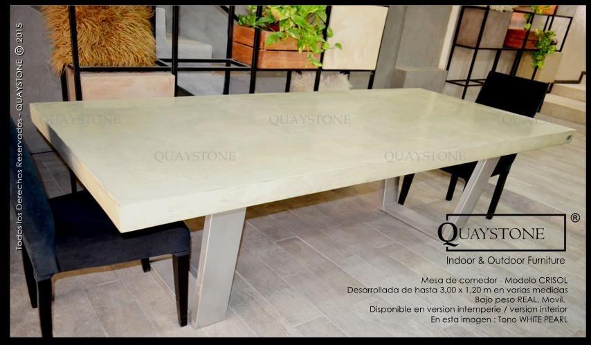 Mesa Comedor Silestone Sillas Marmol - Fabrica Quaystone - $ 5.200 ...