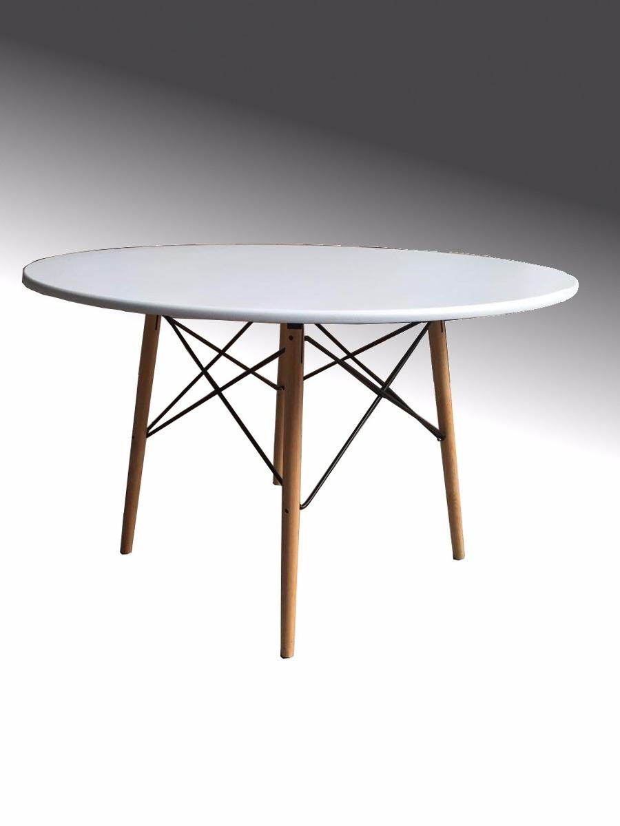 Mesa comedor tipo eames blanca minimalista moda trabajo - Ikea mesa blanca ...