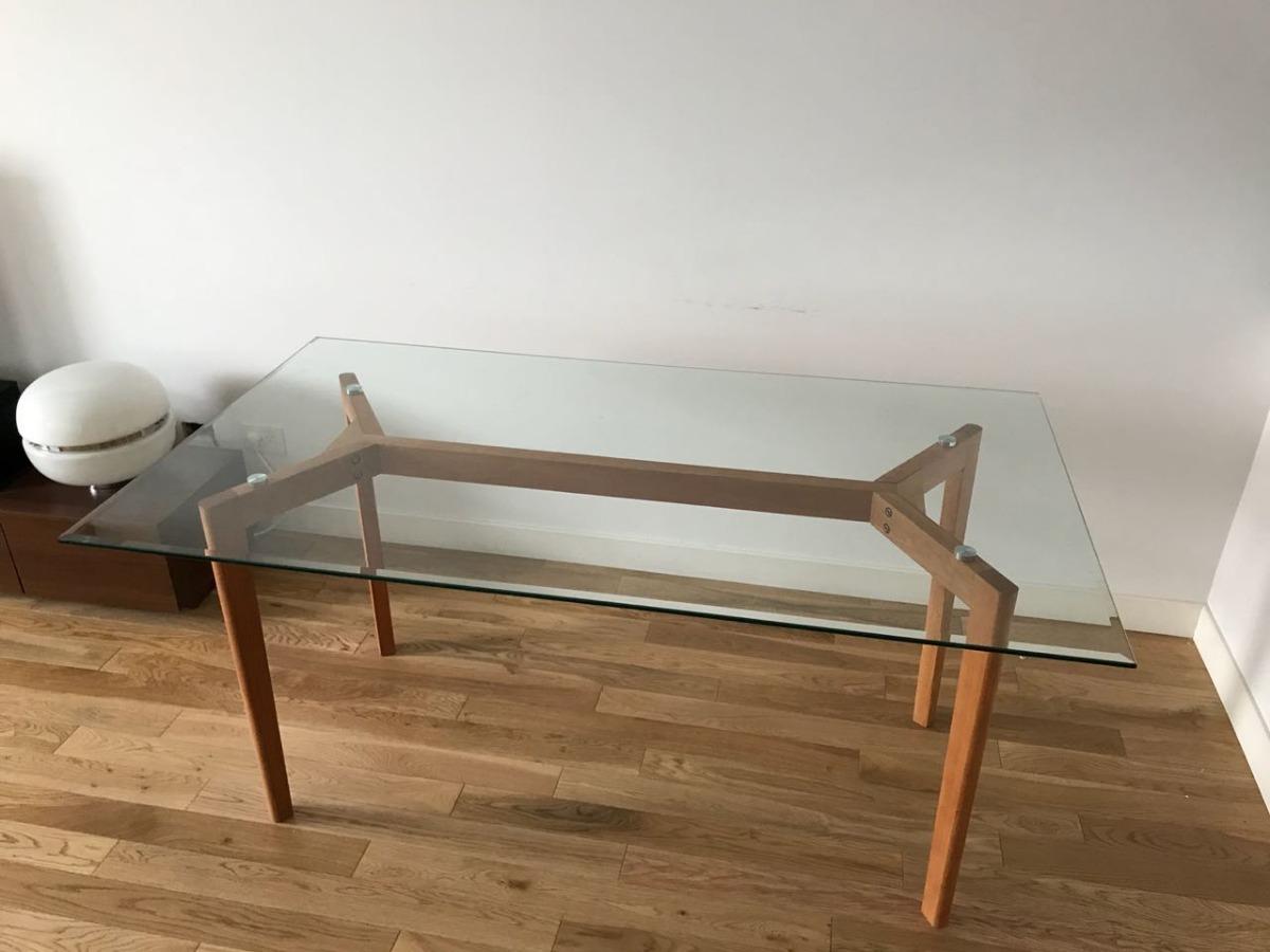 Mesa Comedor Vidrio 1,40x80 Nórdica Estocolmo Premium X 1 - $ 17.879 ...