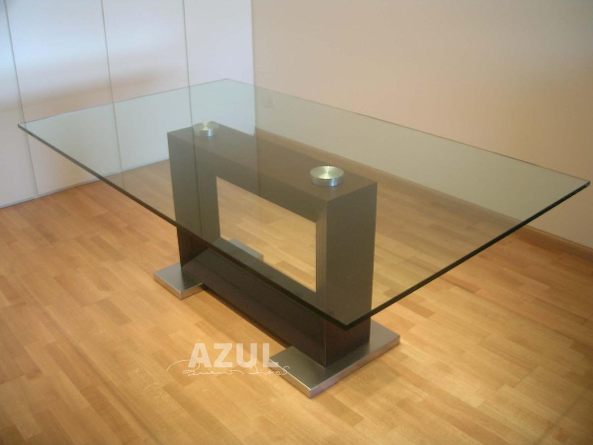 26 bonito mesas comedor cristal y madera galer a de - Mesas comedor cristal ...
