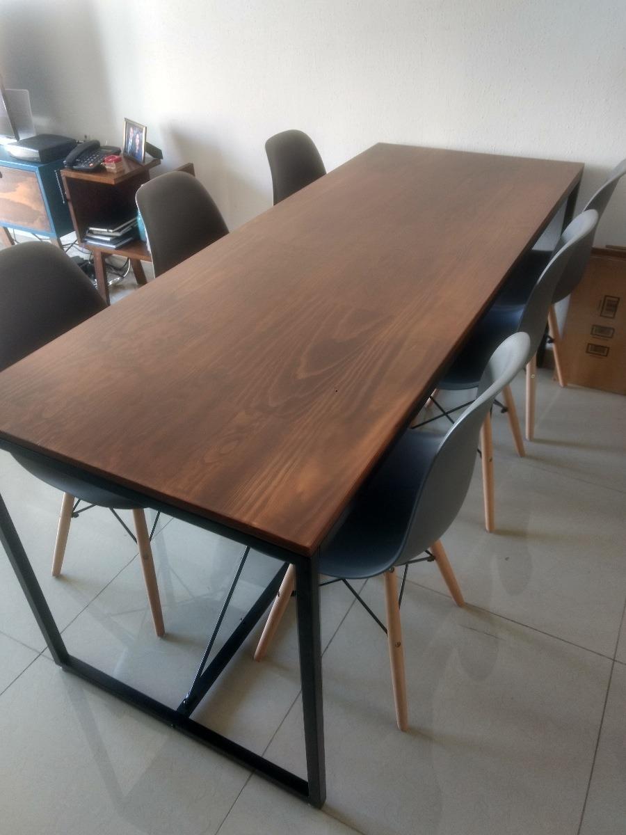 mesa comedor vintage industrial cargando zoom - Mesa Comedor Vintage