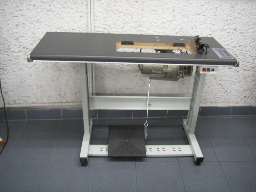 Mesa completa para maquina de coser estante tablon motor for Mesa para maquina de coser