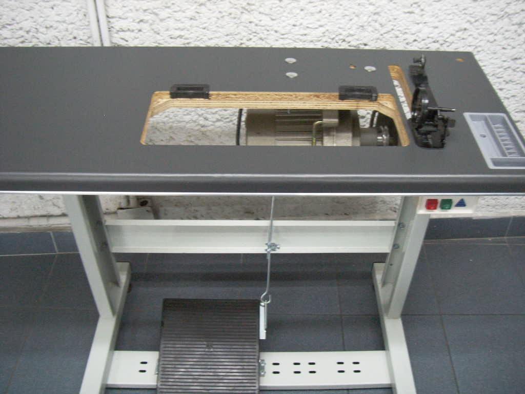Mesa completa para maquina de coser estante tablon motor - Mesas para coser a maquina ...