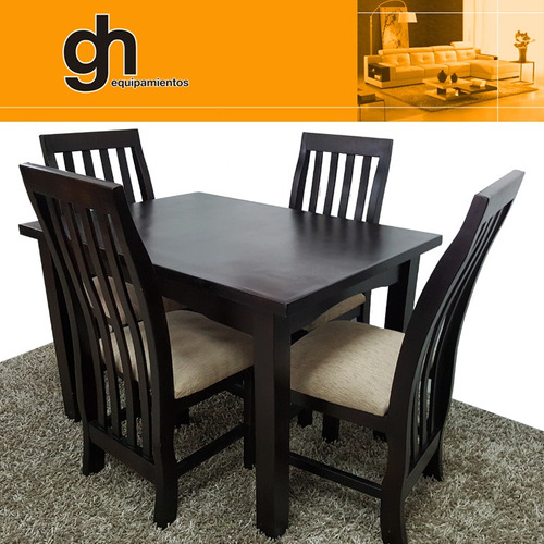 mesa con 4 sillas nuevos modelos exclusivos gh.equipamientos