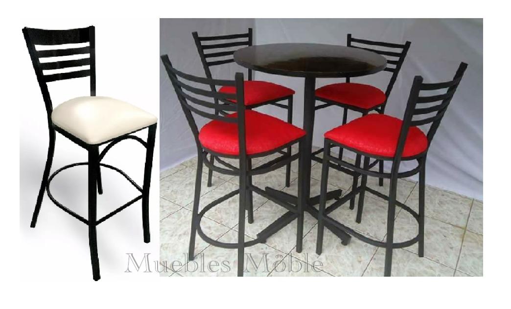 Mesa Con Bancos Comedor Para Restaurante Cafetería Bar Antro ...