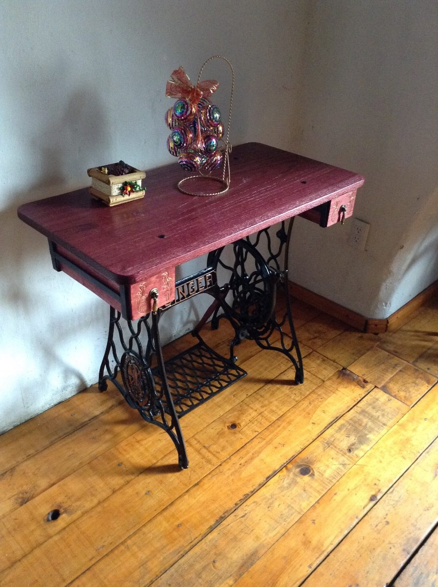 Mesa con base de maquina de coser 2 en mercado - Mesas para coser a maquina ...