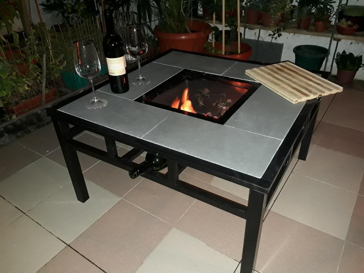 Mesa Con Brasero Ideal Para Terrazas 160 000 En Mercado Libre