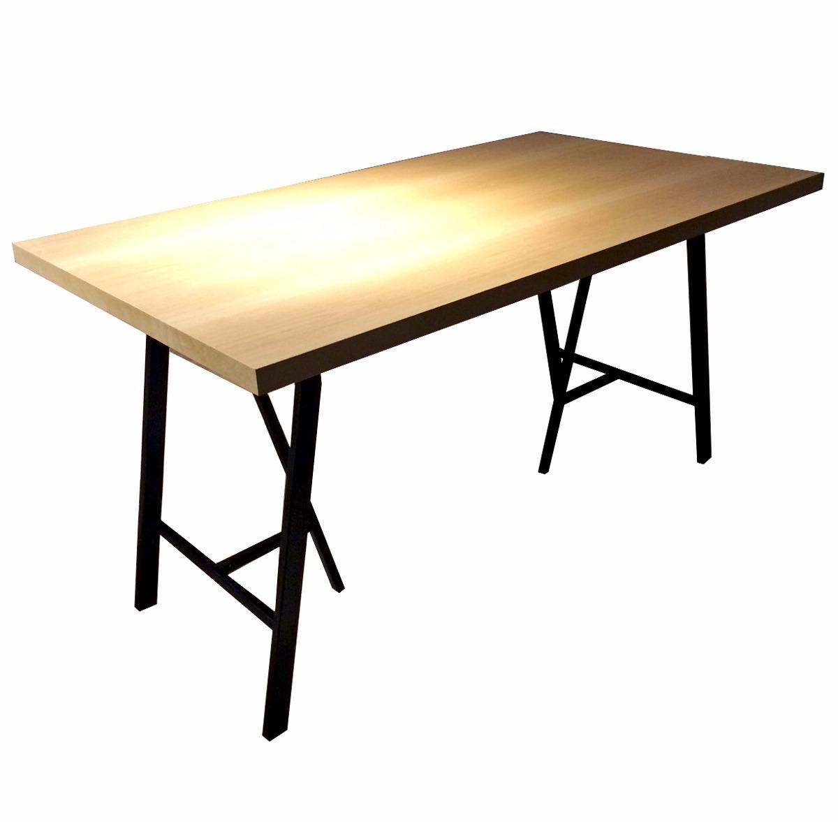 Caballetes mesa mesa de estudio con caballetes eurosilla for Caballetes metalicos