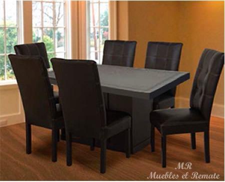 Mesa contemporanea modelo alpes para 6 personas en for Comedores en oferta en monterrey