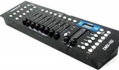 mesa controladora dmx 512 com 192 canais
