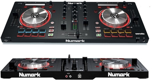 mesa controladora mixtrack pro 3 numark para serato dj