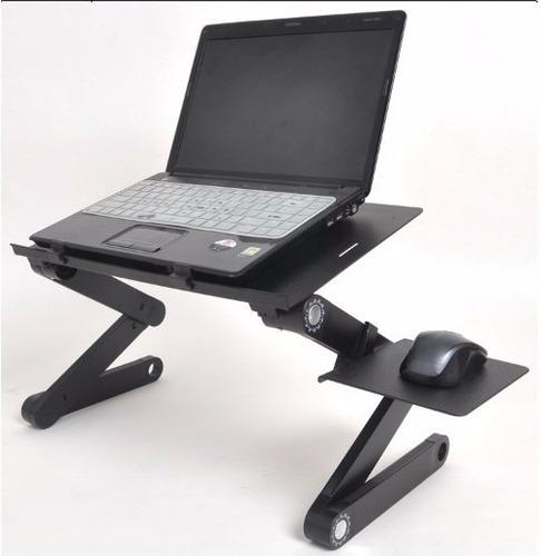 mesa cooler de metal para laptop con posa mouse modelo 2017