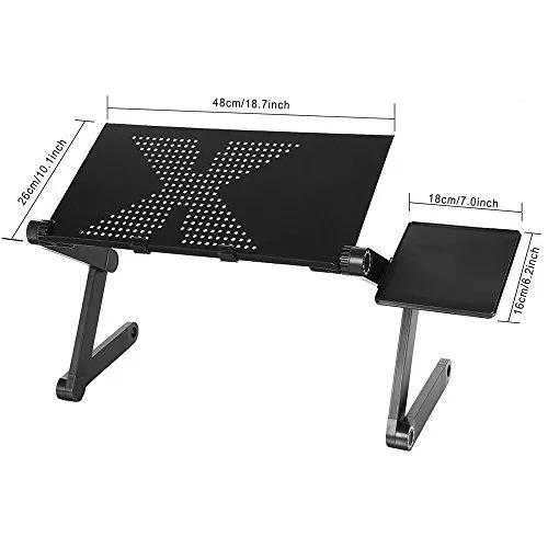 mesa cooler graduable de metal para laptop,macbook con base