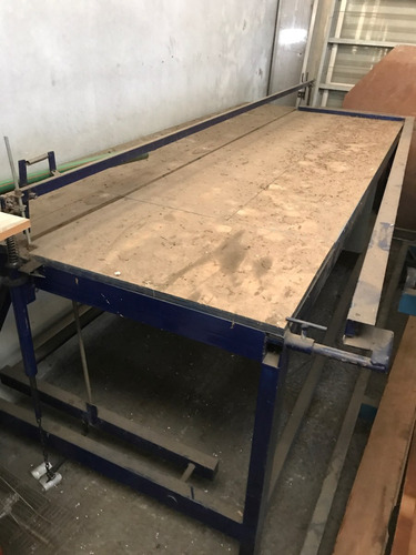 mesa cortadora guillotina para telgopor vea video envíos
