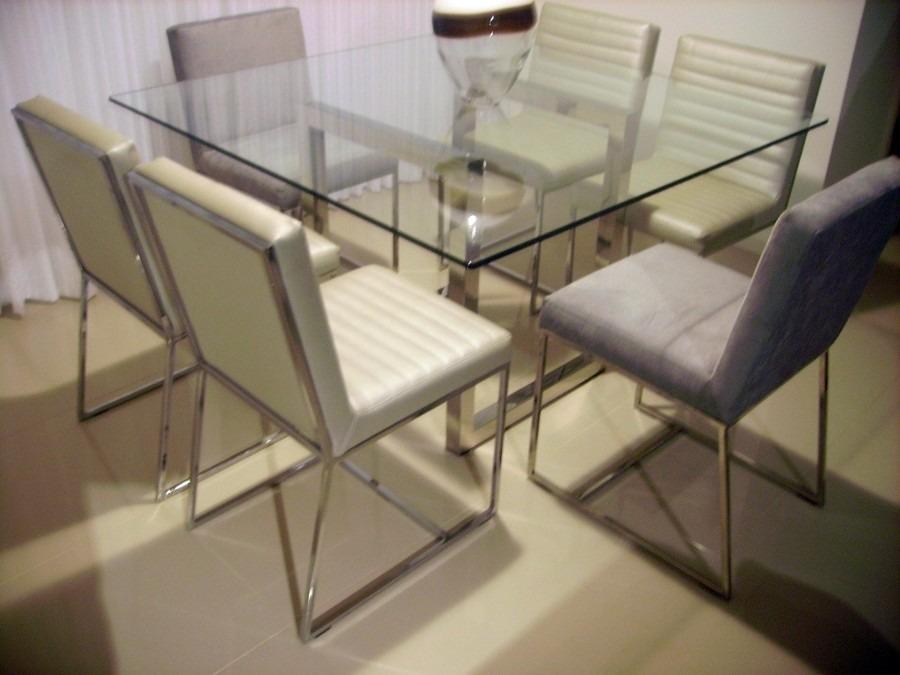 Mesa De Cozinha Em Aço Inoxidável 4 Cadeiras R 379000 Em