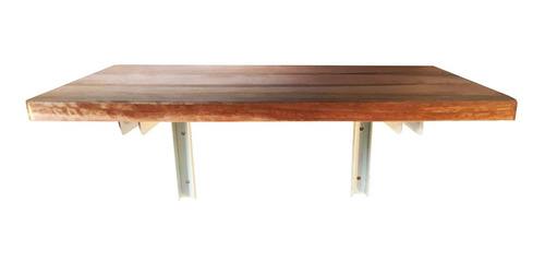 mesa cozinha quarto dobrável de parede em madeira 60x45x2
