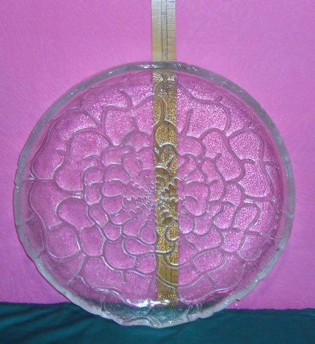 mesa cristal centro