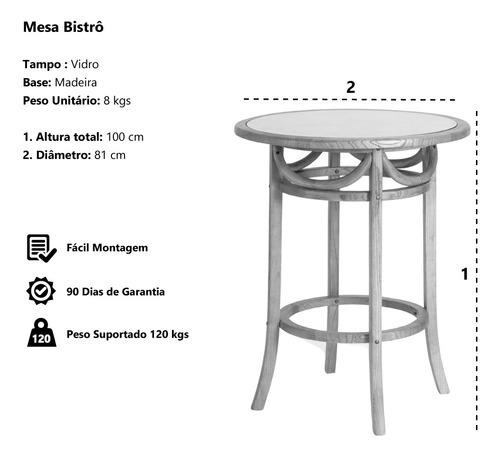 mesa cross betulla madeira tampo de vidro