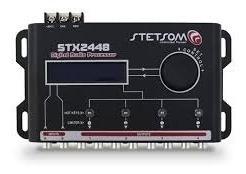 mesa crossover processador stetsom stx 2448 áudio digital au