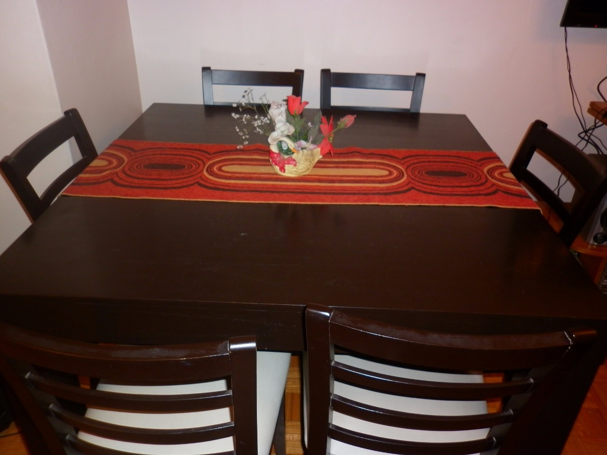 Mesa Cuadrada Para Comedor 1.20 X 1.20 - $ 2.500,00 en Mercado Libre