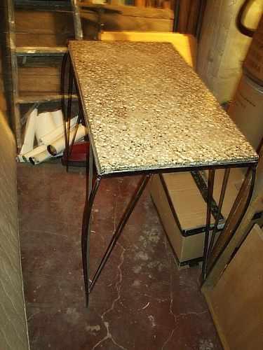 Mesa cubierta de marmol en mercado libre for Cubiertas de marmol chile