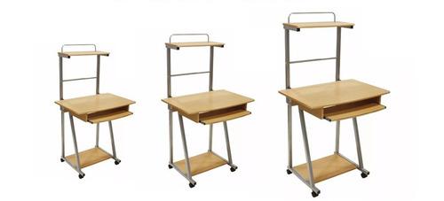 mesa de 3 niveles para computadora tienda física