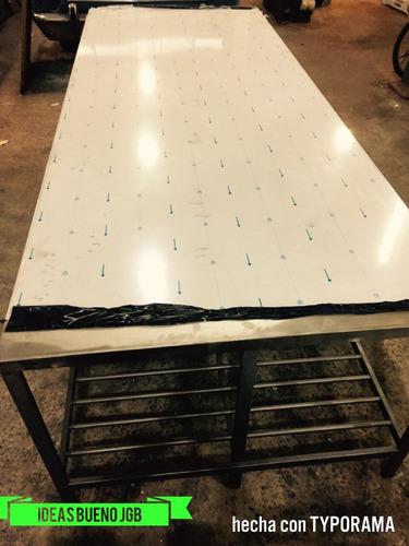 mesa de acero inoxidable directo de fábrica