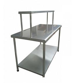 Mesa De Trabajo Acero Inoxidable - Mobiliario Mesas de Trabajo en ...