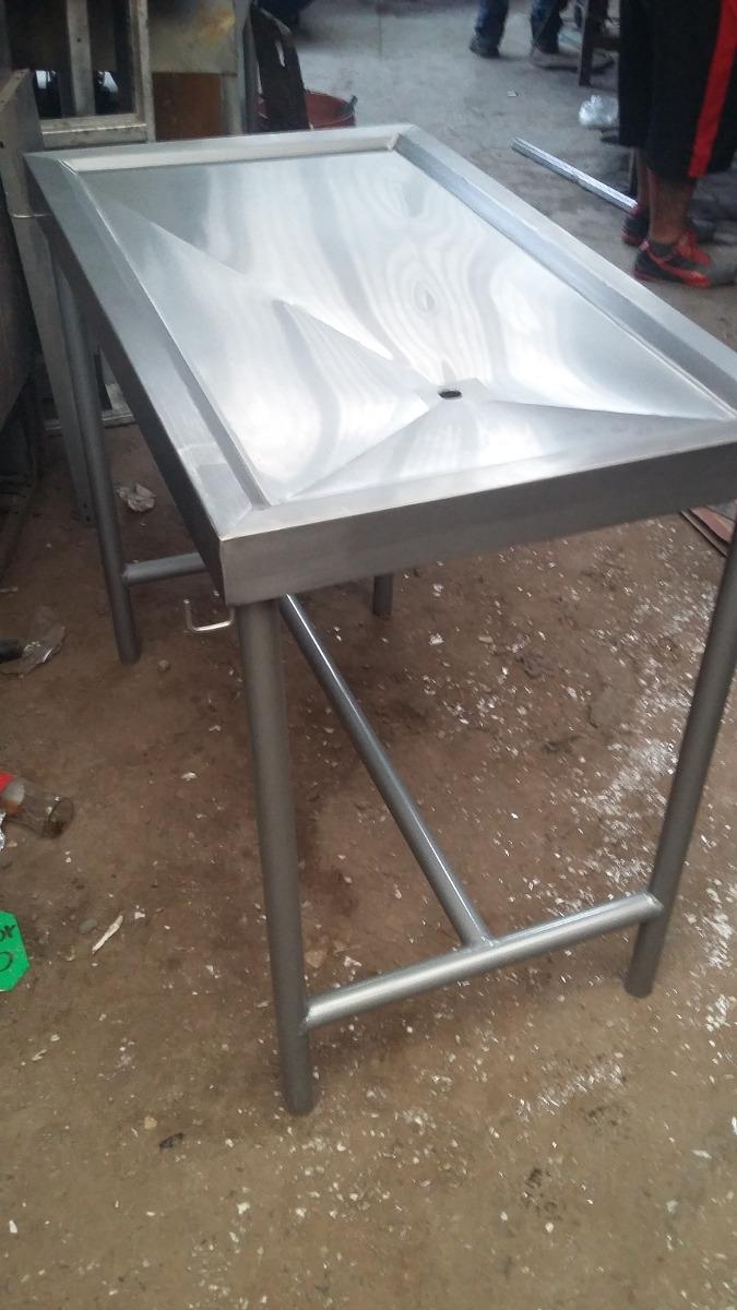 Mesa de acero inoxidable para veterinaria 2 en for Mesa inoxidable