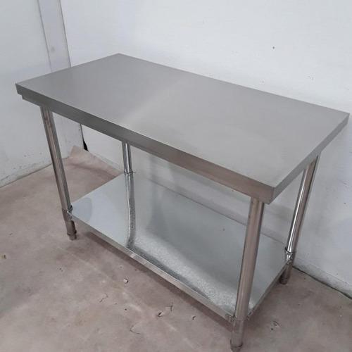 mesa de aço inox 304 1.20x0.60