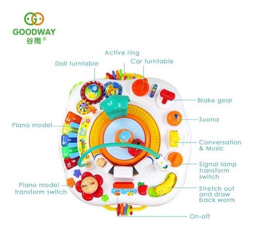 mesa de actividades goodway interactiva aprendizaje musical