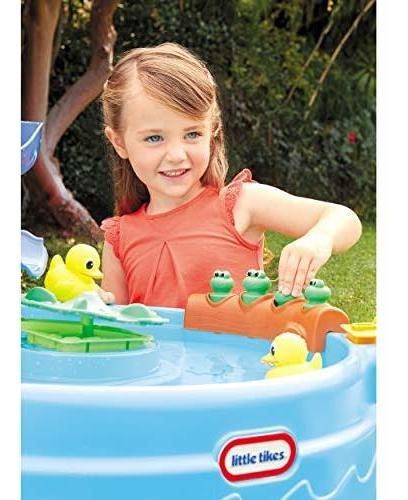 mesa de agua little baby bum little tikes interactiva