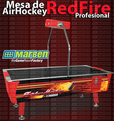 mesa de air-hockey profesional (r)