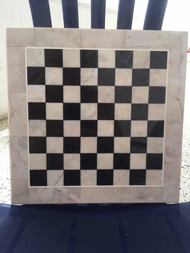 mesa de ajedrez de mármol 8$
