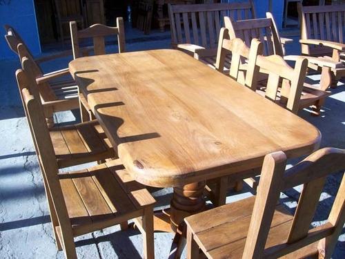 mesa de algarrobo de 2 metros ..el mejor precio ..