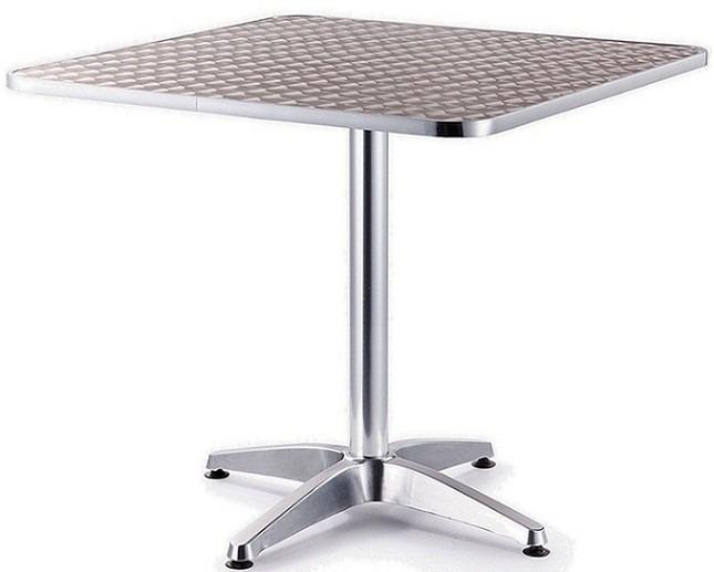 Mesa De Aluminio Para Restaurante De 80 X 80  $ 1,80000 en Mercado