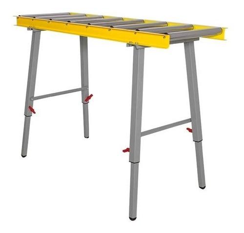 mesa de apoio com 8 roletes imr-8 inmes