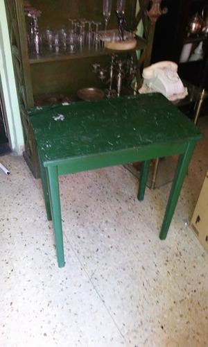 mesa de arrime de campo (el pasado)