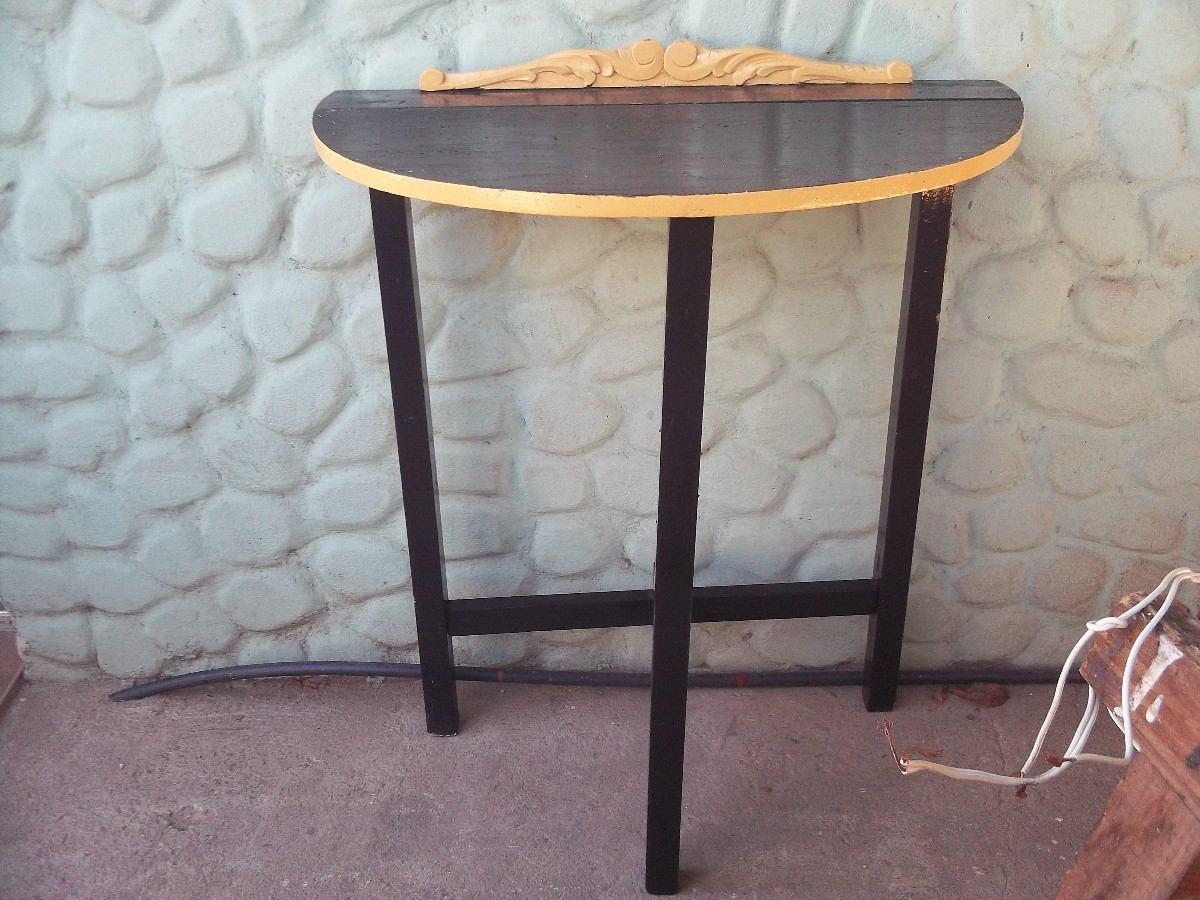 Mesa de arrime de madera antigua desarmable for Mesa madera antigua