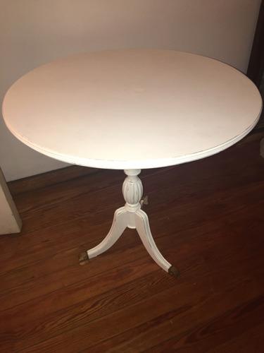 mesa de arrime inglesa shabby chic. francesa. vx. decapada