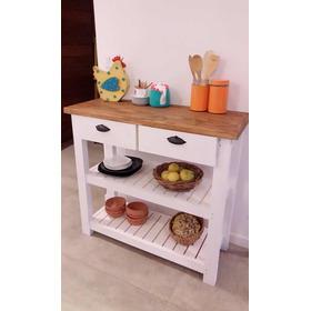 Mesa De Arrime Mueble Multiusos  Recibidor Mueble De Cocina