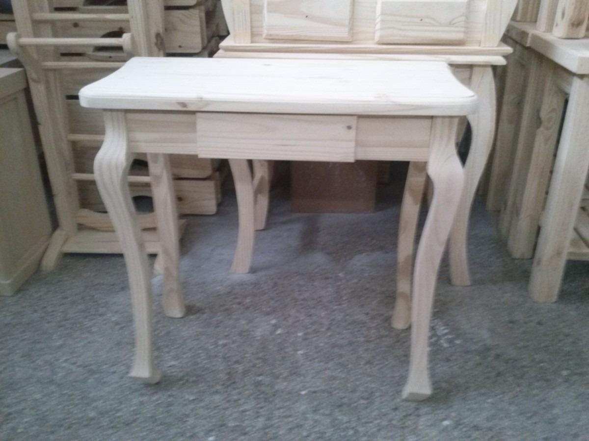 Mesitas de recibidor mesas de palets de madera with mesas - Mesa de pino ...