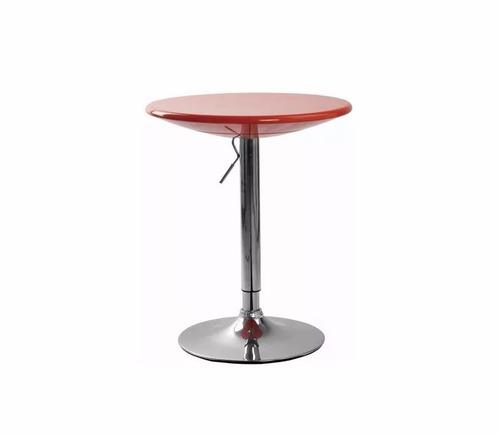 mesa de bar desayunador mesa para banqueta regulable -mueble