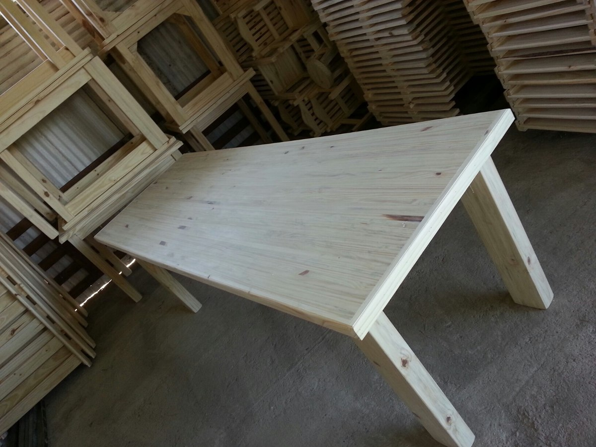 Mesa de barbacoa fiestas comedor madera maciza oferta en mercado libre - Mesa para barbacoa ...