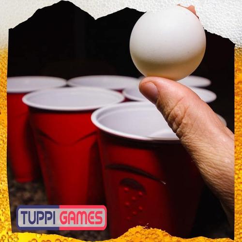 mesa de beer pong  ( fiestas, eventos, reuniones, juntadas )