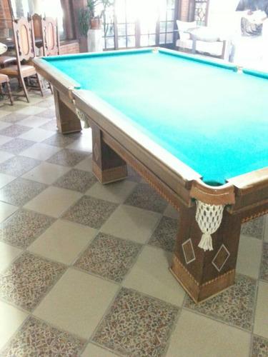 mesa de bilhar brunswck  profissional.