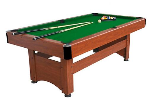 mesa de billar 2,13 metros de largo de madera nuevo