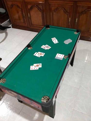 mesa de billar 7 en 1
