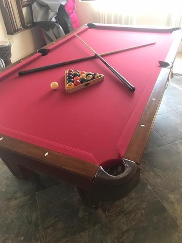 mesa de billar brunswick perfectas condiciones